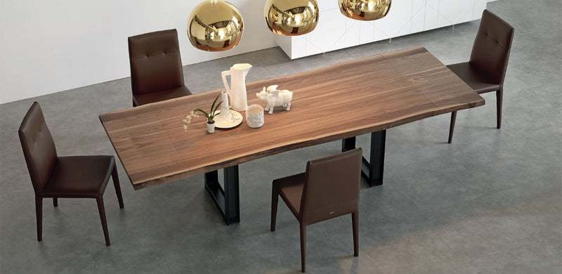 Top view of Sigma Drive Expandable Dining Table - italydesign.com
