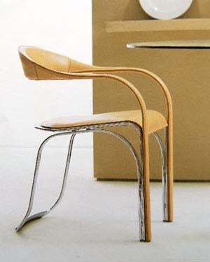 Fettucini Dining Chair - Fasem dining chair designed by Vladimir Kagan