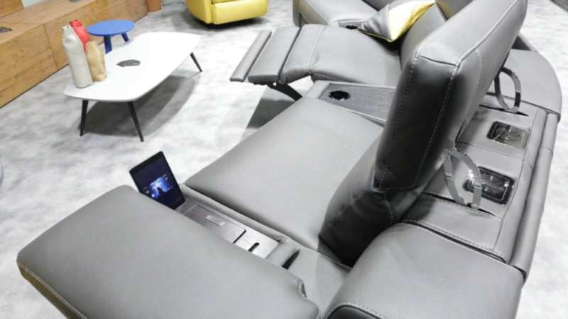 Home Theater 4D Recliner controls