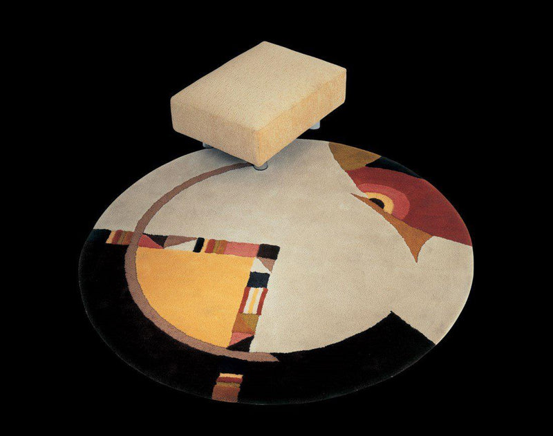 Il Loft Rug Collection no. 33 - High end   modern round rug by Il loft