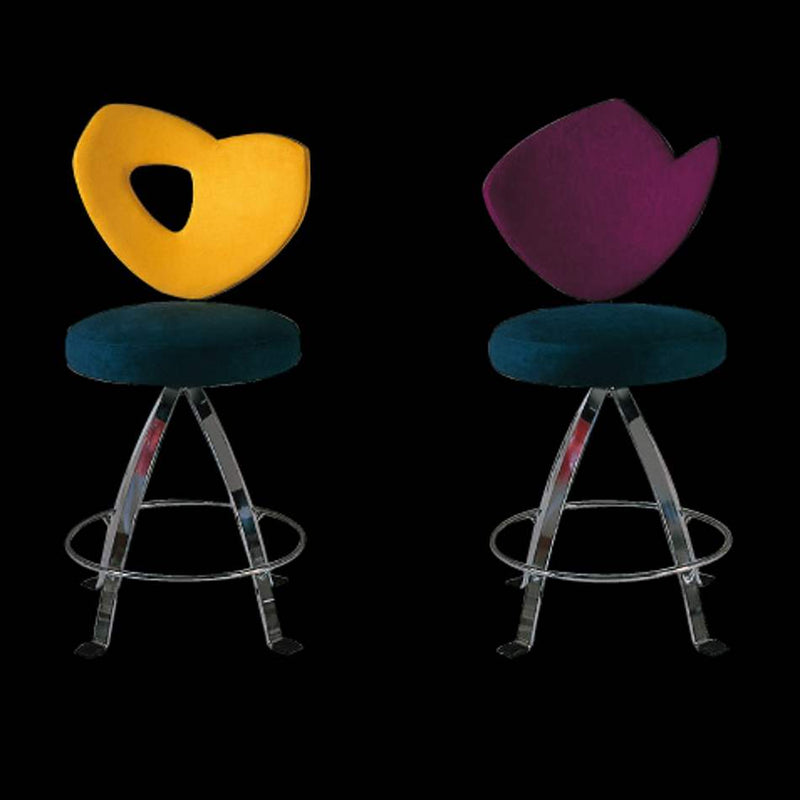 Colorful modern barstools made in Italy by Il Loft