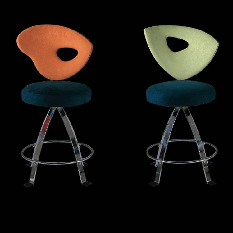 Samba Bar Stool - Modern Luxury Italian barstools by Il Loft