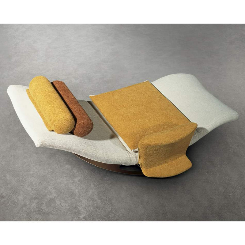 White Luxury chaise by Il Loft made in Italy