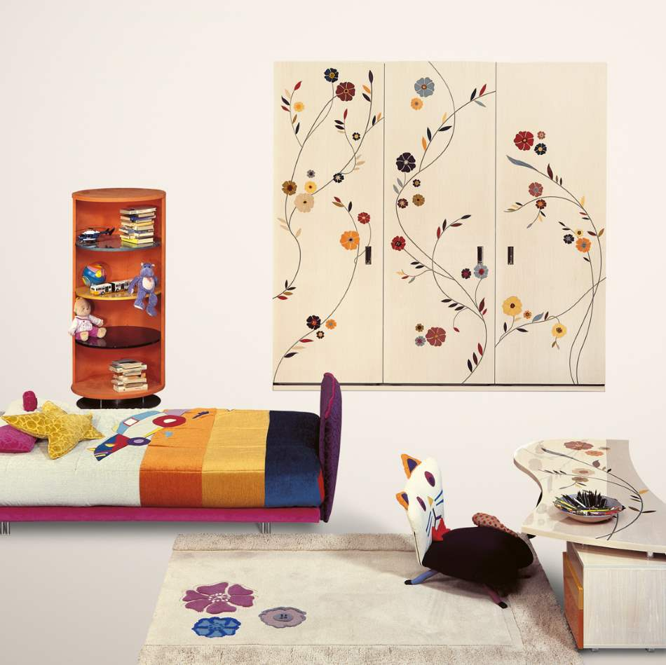 Aurora Baby Armadio - Luxury childrens furniture by Il Loft