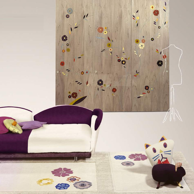Room full of luxury children's furniture made in Italy by Il Loft
