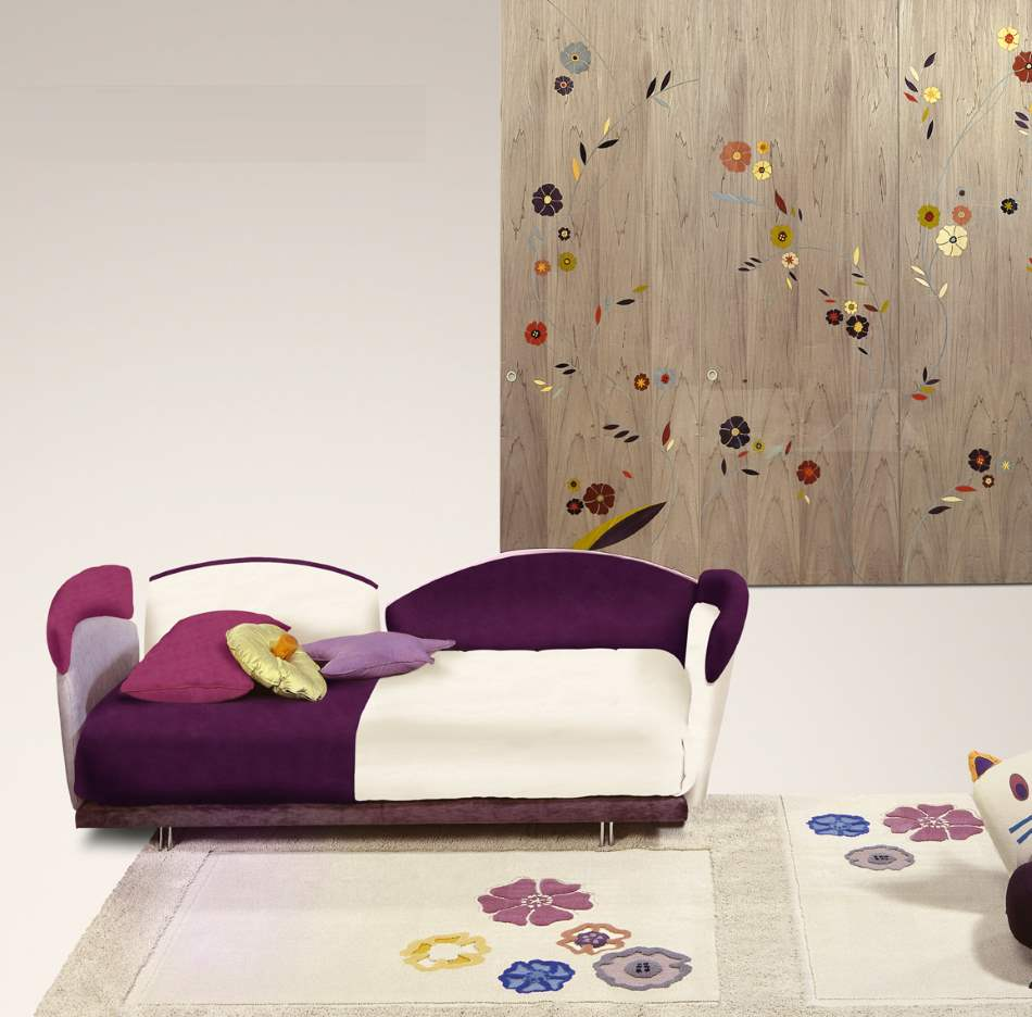 Aurora Baby Letto - Luxury kids  bed by Il Loft  made in Italy