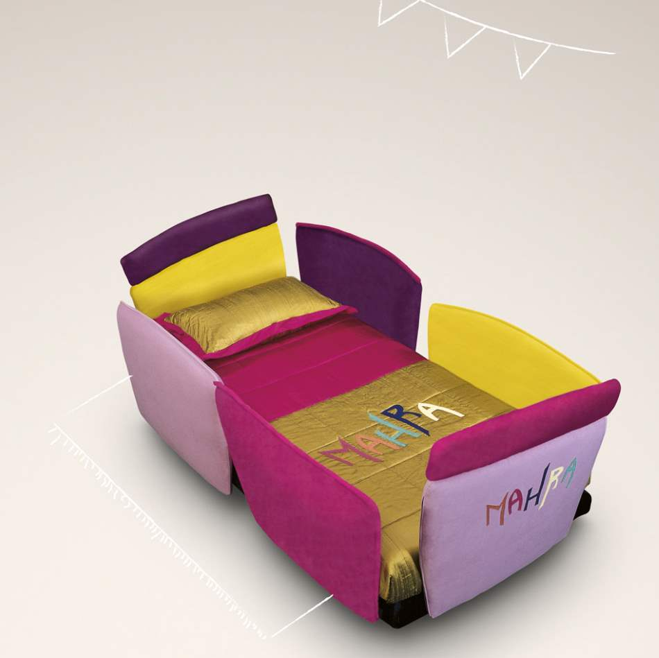 Colorful Baby Letto made in Italy by Il Loft