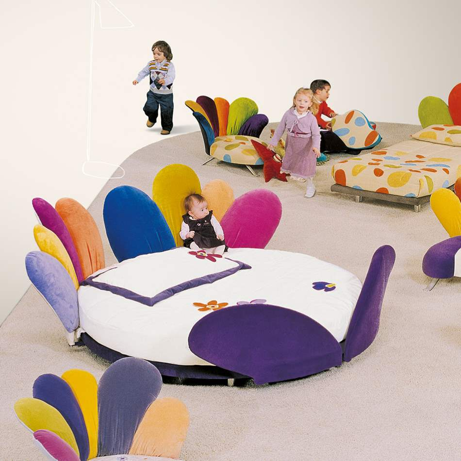Viola Baby Letto - Italian childrens bed  by Il Loft made in Italy
