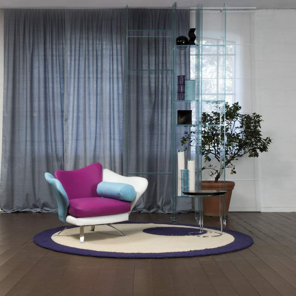 Colorful designer Italian chair by Il Loft