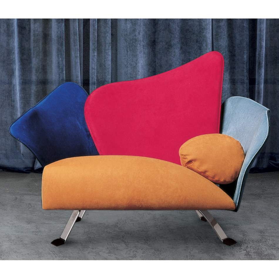 Flower Chair - Luxury sofa  chair designed  by Giorgio Saporiti for Il Loft made in Italy