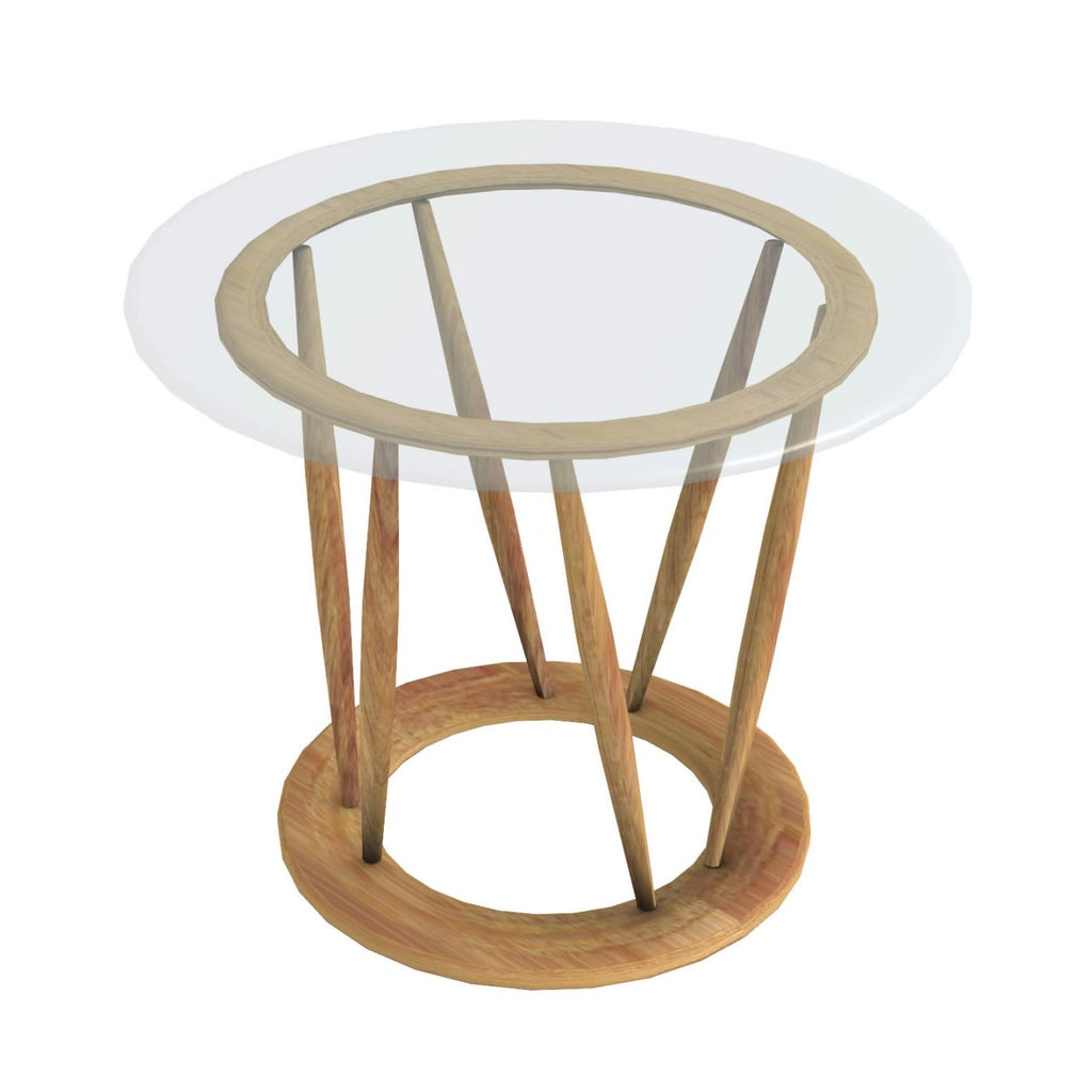 Indobrittan Side Table - italydesign.com