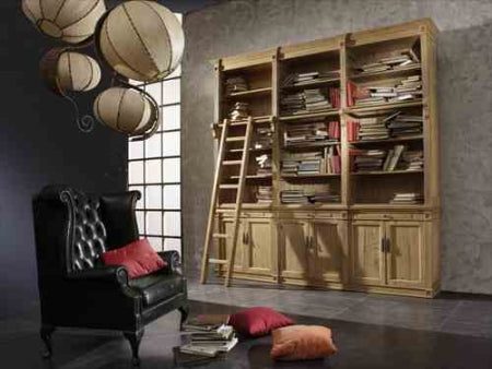 Bookcase 7063 - Modern Furniture | Contemporary Furniture - italydesign