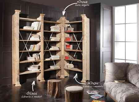 Bookcase ND1068 - Modern Furniture | Contemporary Furniture - italydesign