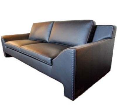 Jazz Sofa - italian leather sofa side view
