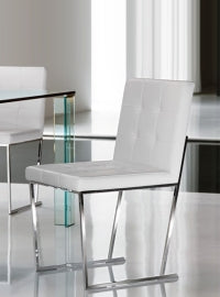 Kate Dining Chair - Italian leather dining chairs by Cattelan Italia