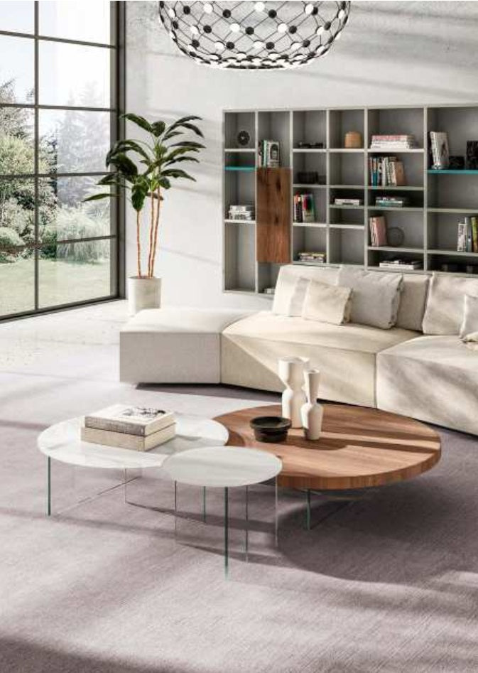 Italian living room full of high end furniture by Lago