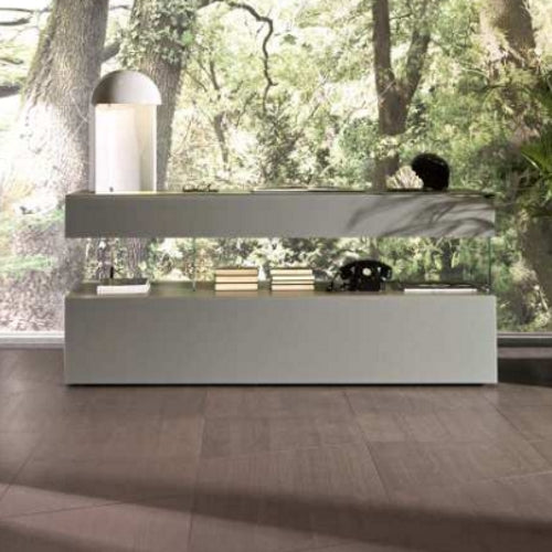 Air Sideboard 0347 Fumo Polished Glass - Modern Furniture | Contemporary Furniture - italydesign