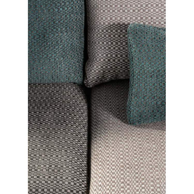 close view of Italian sofa cushions