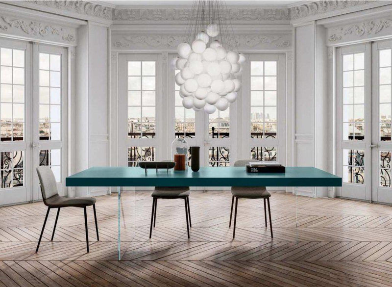 Air Table Lacquered Ottanio - High end  modern dining tables by Lago