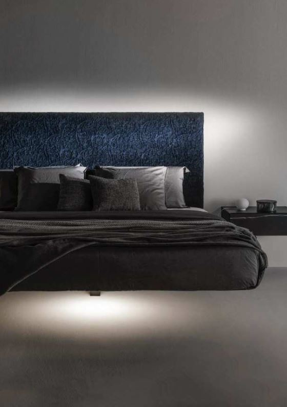 Italian Furniture - Fluttua suspended bed
