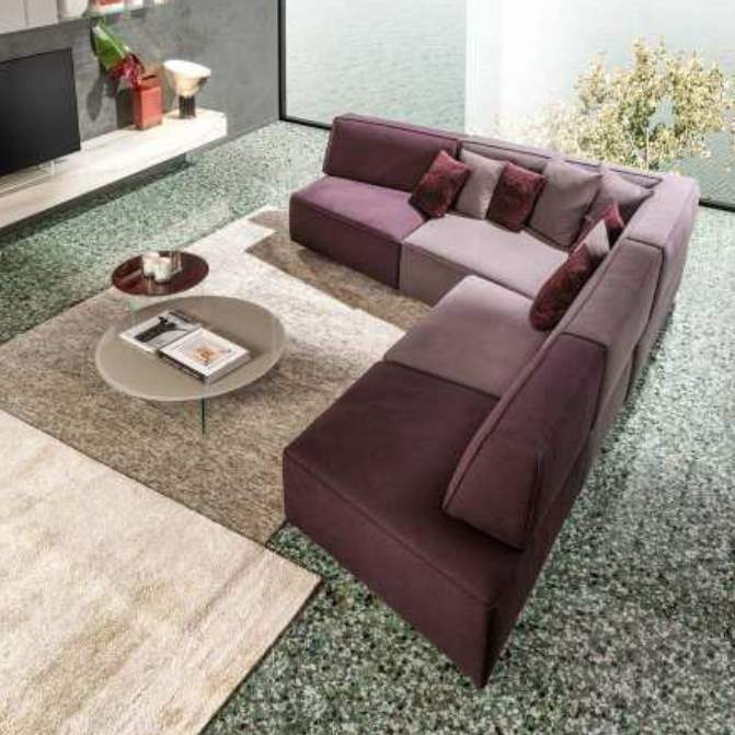 Luxury modern sectionals by Lago made in Italy
