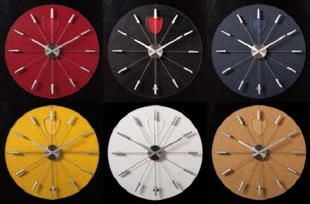 Assortment of colors for the Lamborghini Wall Clock