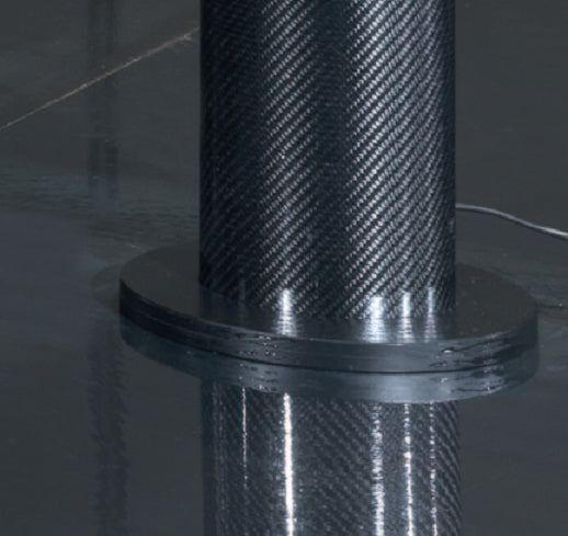 Pipe Tech Carbon Fiber Lamp 140 - italydesign.com