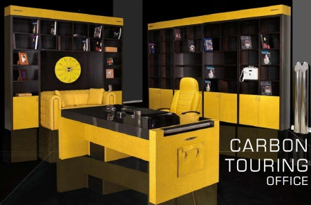 Carbon Touring Office - Executive desk in carbon fiber by Tonino Lamborghini casa
