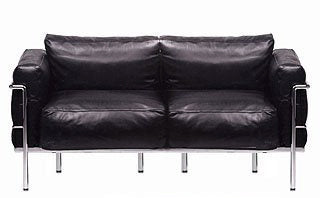 Le Corbusier 3 Seat Sofa Article 523