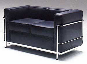 Le Corbusier 2 Seat Sofa Article 522