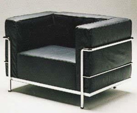 Le Corbusier Sofa Chair Art. 921 - italydesign.com