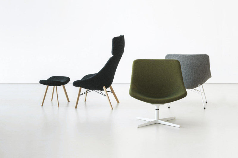 Auki -Modern Office chairs  made in  Italy by Lapalma
