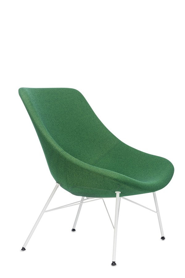 Auki Italian office chair in green