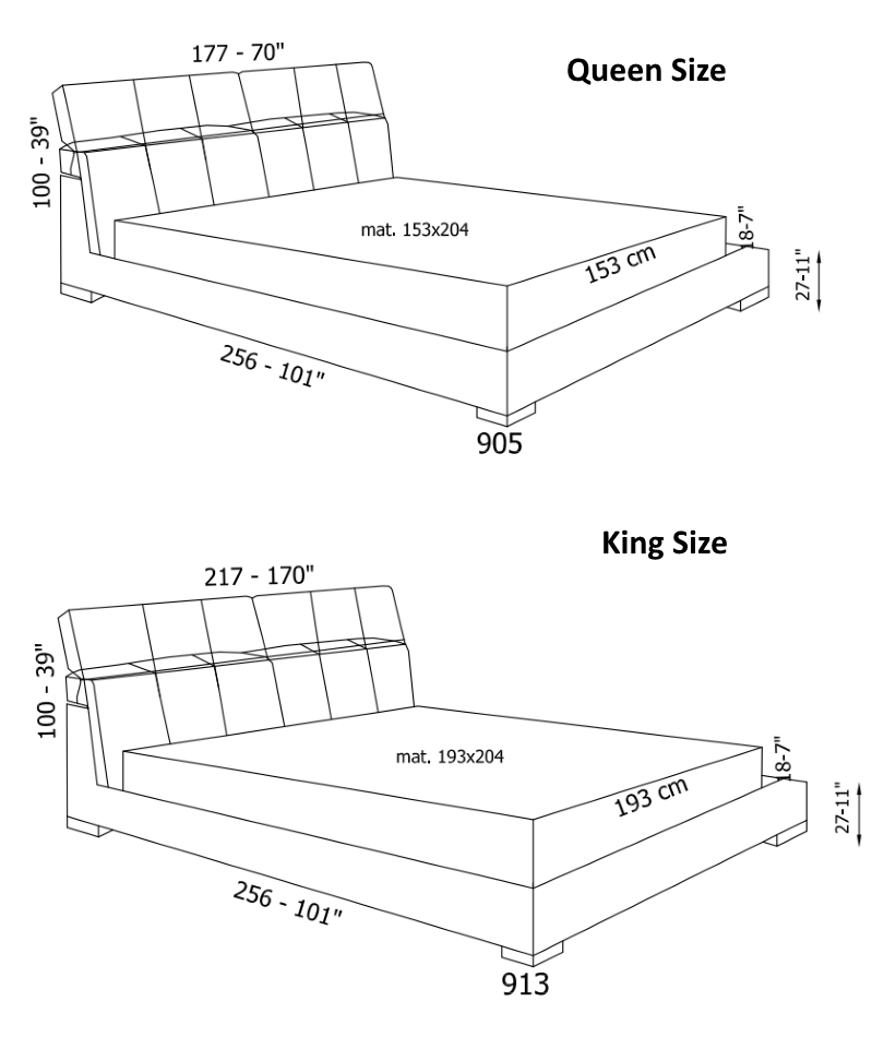 Lux Bed product specs