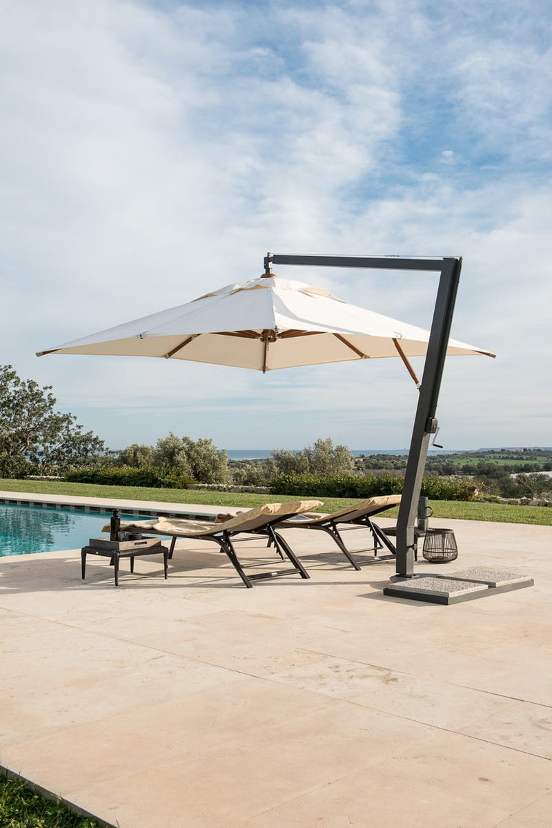 Large pool chair umbrella