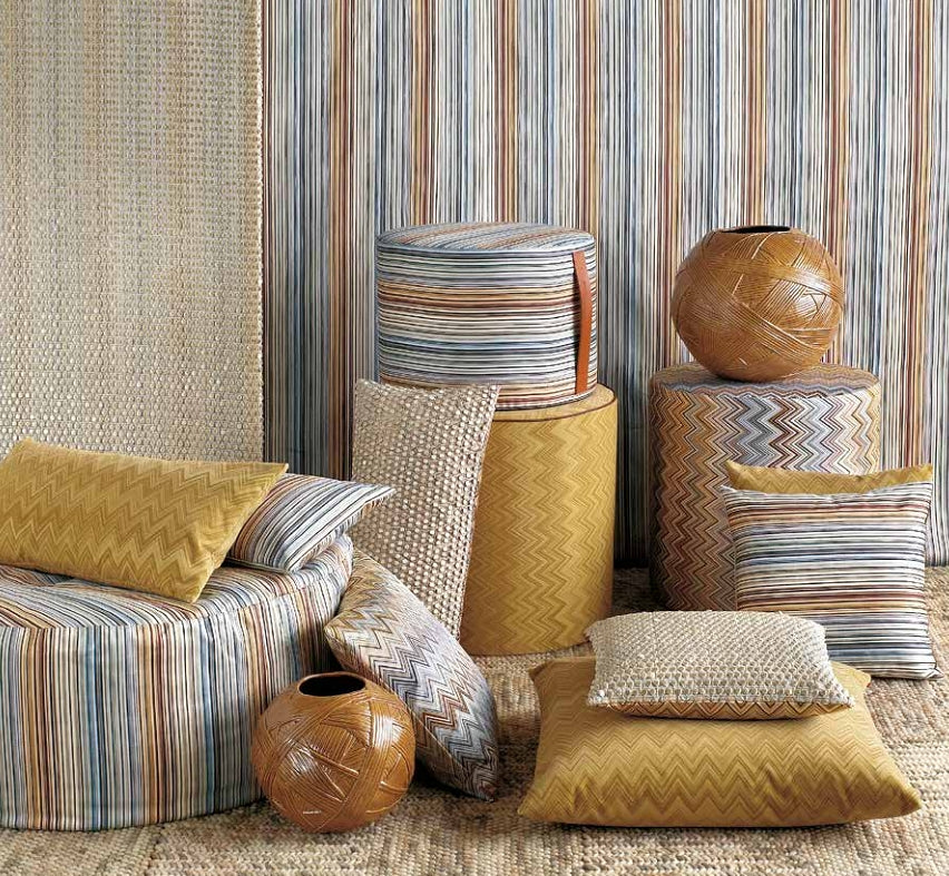 Missoni Cushion and Footstool Collection - Master Classic 148 - italydesign.com