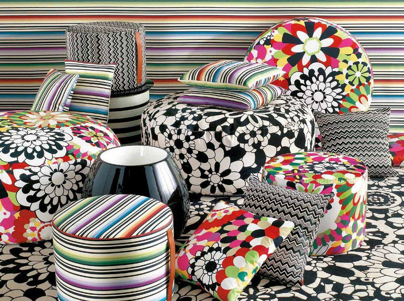 Missoni Cushion and Footstool Collection - Master Moderno T59 - italydesign.com