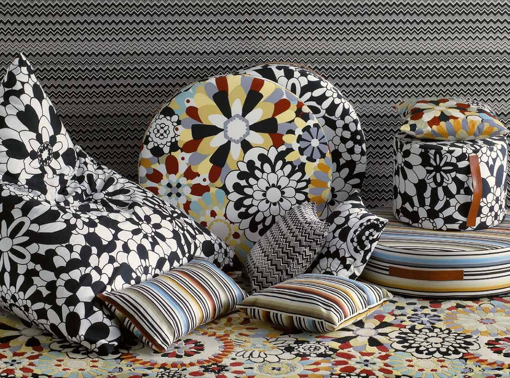Missoni Cushion and Footstool Collection - Master Moderno T60 - italydesign.com