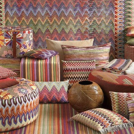 "MissoniHome Pillow Collection - Naduan<br />16"" x 16"" - italydesign.com"
