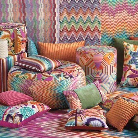 "MissoniHome Pillow Collection - Neda <br />16"" x 16"" - italydesign.com"