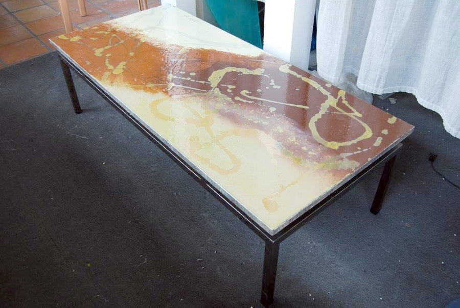 Peachy Ceramic Stone Modern Art Coffee Table Collection Ncnpc Chair Design For Home Ncnpcorg