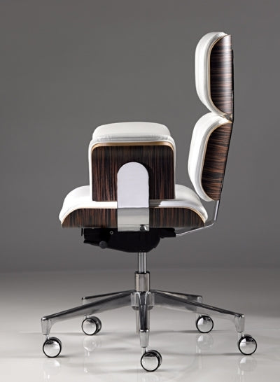 Modern Classic Office Chair side view