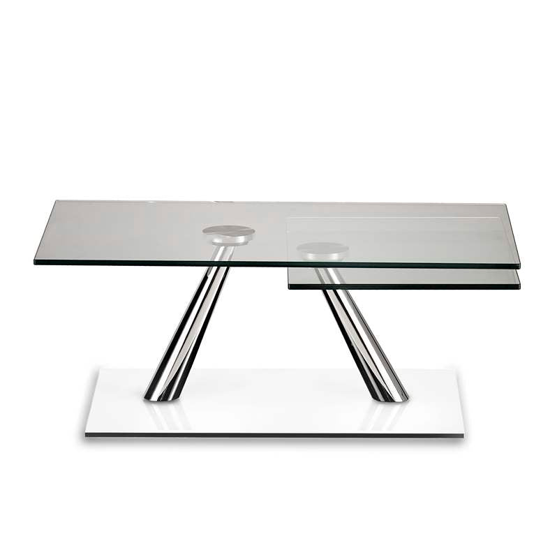 Italian expandable coffee table made in Italy by NAOS