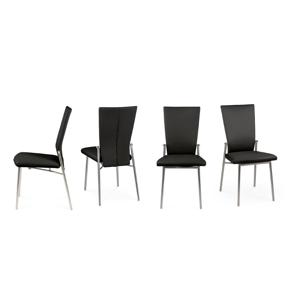 Italian  dining chairs  by Naos