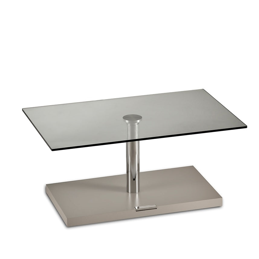 Adjustable height dining table made in Italy by NAOS