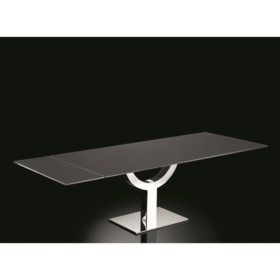 Ulisse - Modern expandable  dining  table made in Italy by Naos
