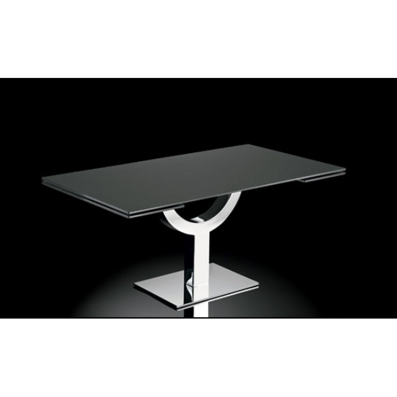 Metal based expandable Italian dining table by NAOS