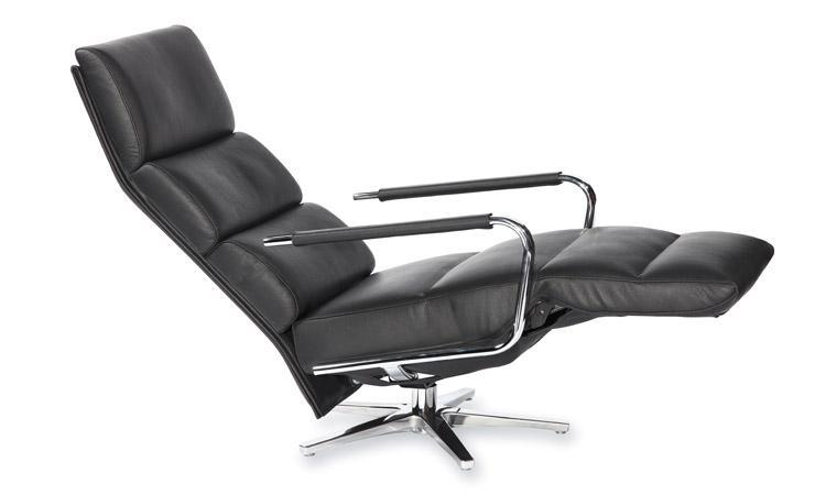 Nora Recliner - Leather  recliner by Strassle