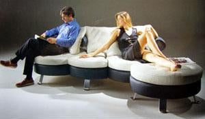 Italian Designed Furniture - Original Sofa