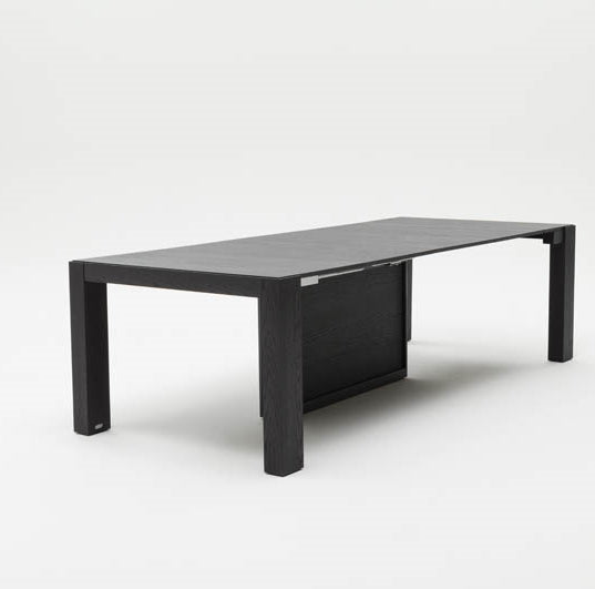 Middle configuration of the Ozzio Italia dining table